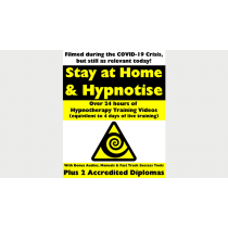 "STAY AT HOME & HYPNOTIZE - HOW TO BECOME A MASTER HYPNOTIST WITH EASEBy Jonathan Royle & Stuart ""Harrizon"" Cassels Mixed Media DOWNLOAD"