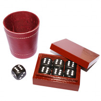 Problema with leather dice cup