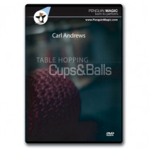 Table Hoping Cups and Balls by Carl Andrews