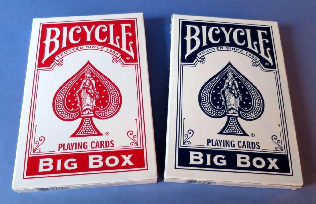 Big Box Bicycle Cards Jumbo