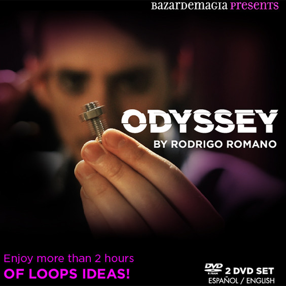 Odyssey by Rodrigo Romano and Bazar de Magia (2 DVD Set) Loops