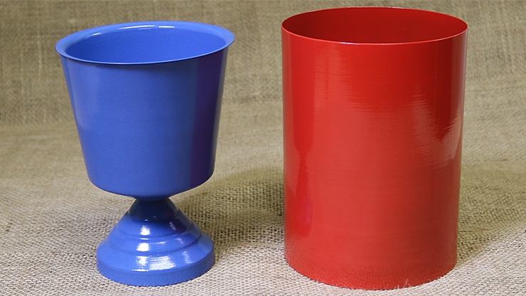 Aqua Change Vase (Aluminum) by Mr. Magic