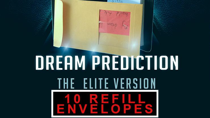 Envelopes for Dream Prediction Elite Version (10 ct.) by Paul Romhany  -Refill