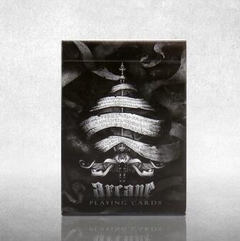 Arcane Playing Cards schwarz