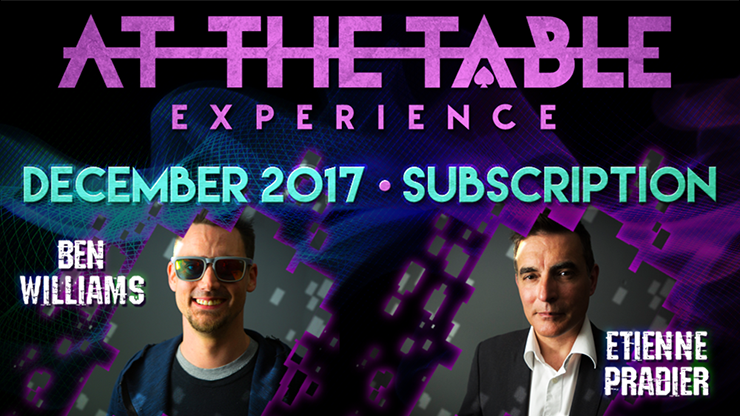 At The Table December 2017 Subscription video DOWNLOAD