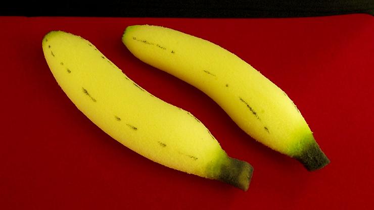 Sponge Bananas (medium/2 pieces) by Alexander May - Bananen Vermehrung