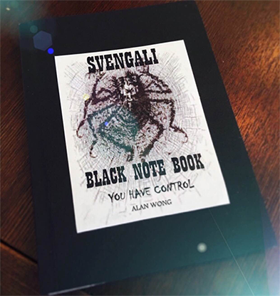Blank Svengali Notebook (Small) by Alan Wong