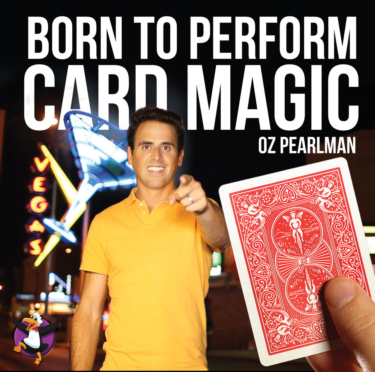 Born to Perform Card Magic by Oz Pearlman (DVD)