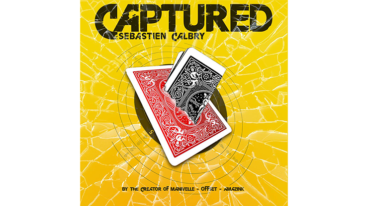 CAPTURED RED  (Gimmick and Online Instructions) by Sebastien Calbry