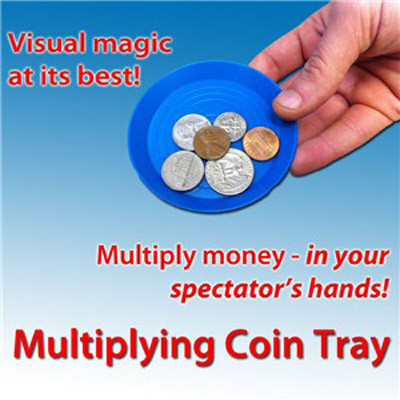 Multiplying Coin Tray by Royal Magic - Münztablett