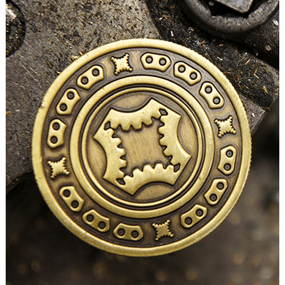 Full Dollar Coin (Bronze) by Mechanic Industries - Trick