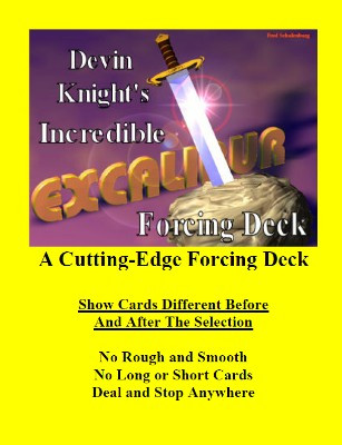 Excalibur Deck by Devin Knight