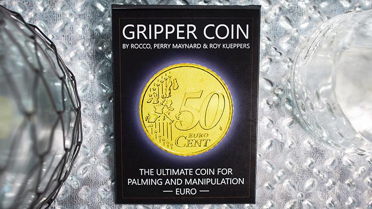 Gripper Coin (Single/Euro) by Rocco Silano