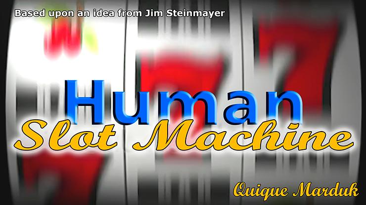 Human Slot Machine by Quique Marduk