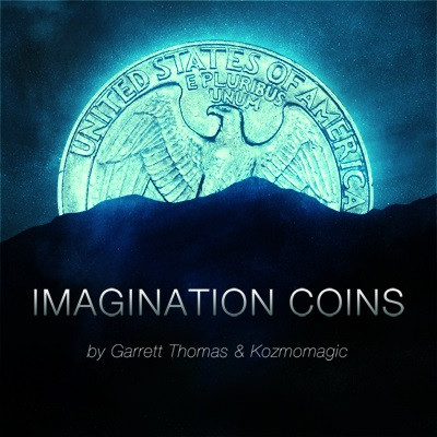 Imagination Coins by Garrett Thomas and Kozmomagic (EURO)