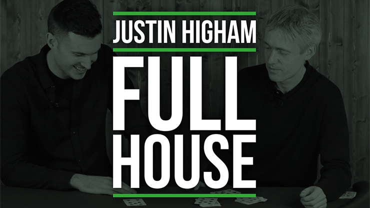 Justin Higham Full House by The Modus -DVD