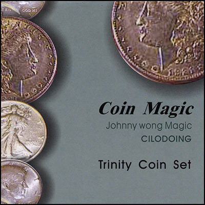 Trinity Coin Set (with DVD) by Johnny Wong - Trick