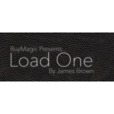 Load One - Card to Phone Wallet (Large/Black) by U.K. Magic Tricks