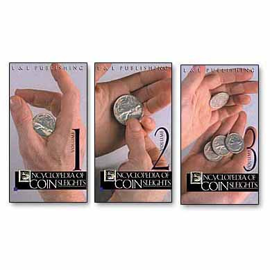Encyclopedia of Coin Sleights Vol 1 - Michael Rubinstein (DVD)