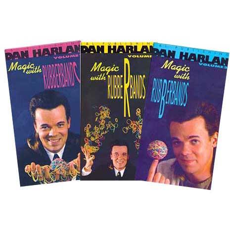 Magic with Rubberbands by Dan Harlan Vol 3 (DVD)