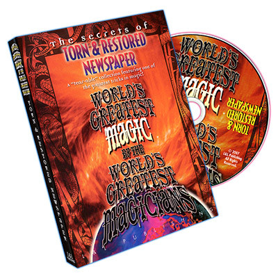 Torn And Restored Newspaper (World's Great. Magic) (DVD)