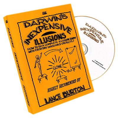 Darwin's Inexpensive Illusions by Gary Darwin (DVD)