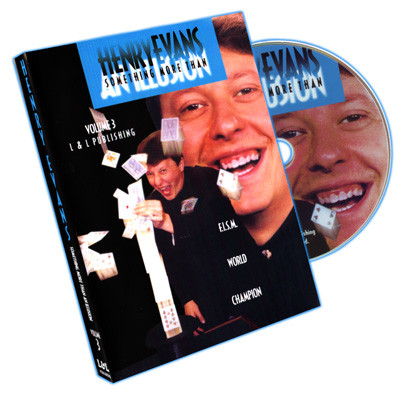 Something More Than an Illusion by Henry Evans Vol 3 (DVD)