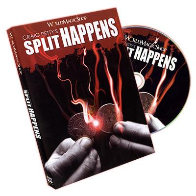 Split Happens by Craig Petty and World Magic Shop (DVD)