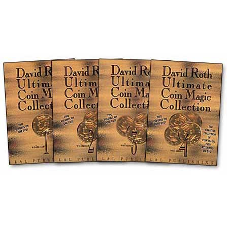 Ultimate Coin Magic by David Roth (DVD) Vol. 3