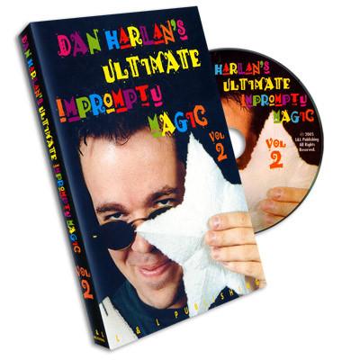 Ultimate Impromptu Magic Vol 2 by Dan Harlan (DVD)