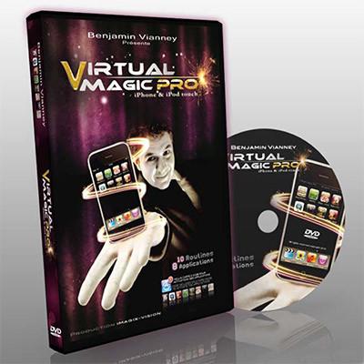 Virtual Magic Pro by Benjamin Vianney DVD