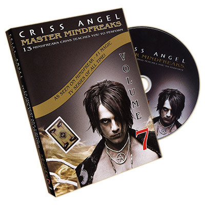 Master Mindfreaks Vol. 7 by Criss Angel (DVD)