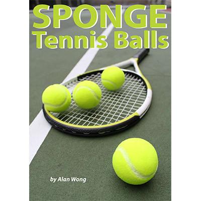 Sponge Tennis Balls (Set of 4) by Alan Wong