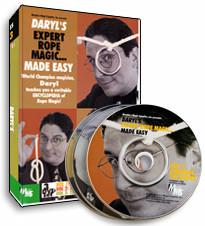Daryl's Expert Rope Magic... Made Easy Vol 1 (DVD)