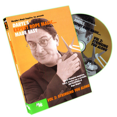 Daryl's Expert Rope Magic... Made Easy Vol 2 (DVD)