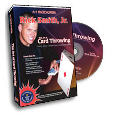 The Art of Card Throwing with Rick Smith, Jr. (DVD)