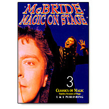 Magic on Stage by Jeff McBride Vol 3 (DVD)