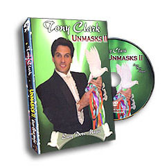 Unmasks #2  by Tony Clark (DVD)