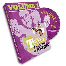 Lessons in Magic by Juan Tamariz Vol 1 (DVD)