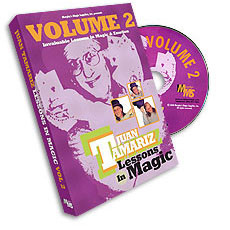 Lessons in Magic by Juan Tamariz Vol 2 (DVD)