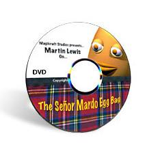 The Senor Mardo Egg Bag  by Martin Lewis (DVD)