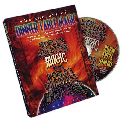 Dinner Table Magic (World's Greatest Magic) (DVD)