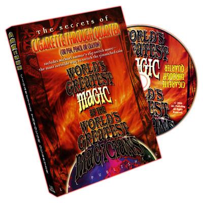 Cigarette Through Quarter (World's Greatest Magic) (DVD)