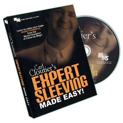 Expert Sleeving Made Easy by Carl Cloutier (DVD)
