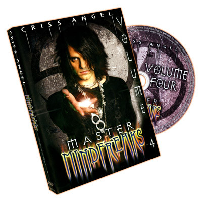 Master Mindfreaks by Criss Angel - Volume 4 (DVD)