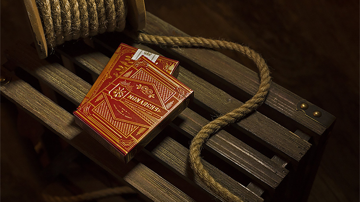Monarch Playing Cards (Red) by Theory 11
