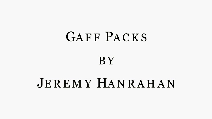 Bicycle Gaff Pack Red (6 Cards) by The Hanrahan Gaff Company