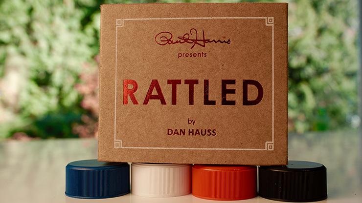 Paul Harris Presents Rattled (Dark Red) by Dan Hauss