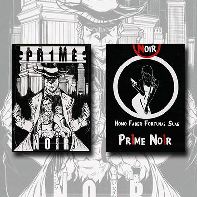 Pr1me Noir Deck (limited Edition)by Max Magic & Stratomagic