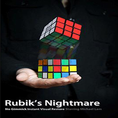 Rubik's Nightmare by Michael Lam and SansMinds Magic